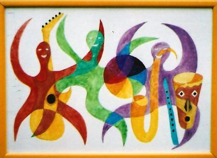 African Jazz (Boogie Woogie) 415mm x 295mm Watercolours on paper.jpg
