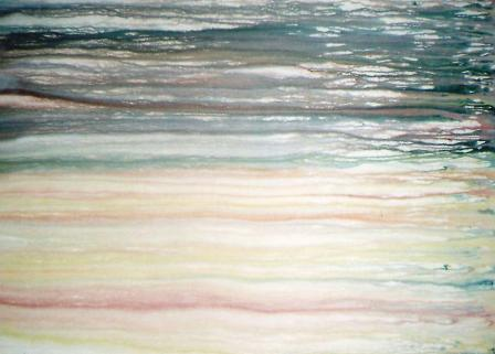 Fisherman come .... Fisherman go .... the ocean keeps on roaring 1215mm x 885mm Acrylic on canvas.jpg