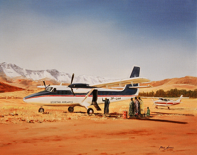 Mike Norris - Twin Otter. Lesotho.png