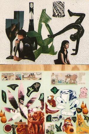 a. Teenage frenzy b. Mystique ... make it better A3 Collage on paper.jpg