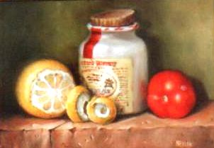 mustard pot Oils - Size A4 - SOLD.jpg